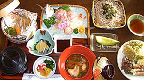 小浜ビジネスホテル 夕食料理