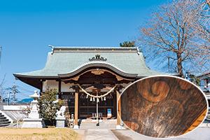 小浜神社(龍の天井絵)