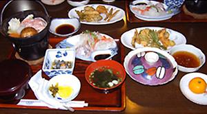 お食事 夕食の一例